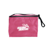 Six Pack Pink Cooler-Goldey-Beacom Official Logo