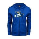 ENZA Ladies Royal Fleece Full Zip Hoodie-GBC