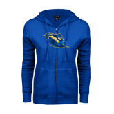ENZA Ladies Royal Fleece Full Zip Hoodie-Lightning Man