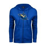 ENZA Ladies Royal Fleece Full Zip Hoodie-Lightning Man