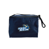 Six Pack Navy Cooler-Goldey-Beacom Official Logo