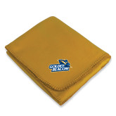 Gold Arctic Fleece Blanket-Goldey-Beacom Official Logo