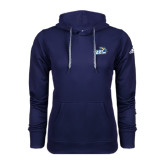 Adidas Climawarm Navy Team Issue Hoodie-Goldey-Beacom Official Logo