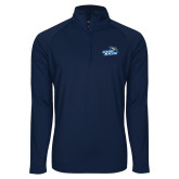 Sport Wick Stretch Navy 1/2 Zip Pullover-Goldey-Beacom Official Logo