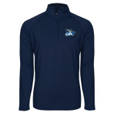 Sport Wick Stretch Navy 1/2 Zip Pullover-GBC
