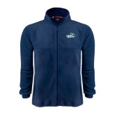 Fleece Full Zip Navy Jacket-Goldey-Beacom Official Logo