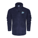 Columbia Full Zip Navy Fleece Jacket-GBC