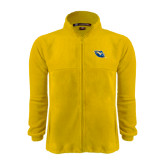 Fleece Full Zip Gold Jacket-Lightning Man