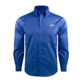 Red House French Blue Dobby Long Sleeve Shirt-Goldey-Beacom Official Logo