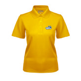 Ladies Gold Dry Mesh Polo-Goldey-Beacom Official Logo