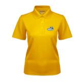 Ladies Gold Dry Mesh Polo-Goldey-Beacom Official Logo