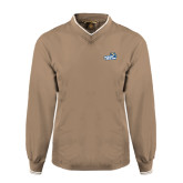 Khaki Executive Windshirt-Goldey-Beacom Official Logo