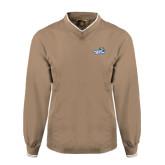 Khaki Executive Windshirt-Goldey-Beacom Official Logo