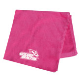 Pink Beach Towel-Goldey-Beacom Official Logo