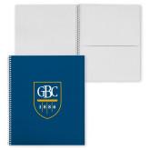 College Spiral Notebook w/Clear Coil-GBC Shield