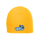 Gold Knit Beanie-Goldey-Beacom Official Logo