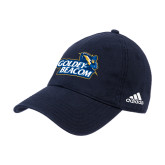 Adidas Navy Slouch Unstructured Low Profile Hat-Goldey-Beacom Official Logo