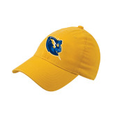 Gold Flexfit Mid Profile Hat-Lightning Man