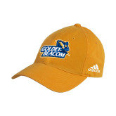 Adidas Gold Slouch Unstructured Low Profile Hat-Goldey-Beacom Official Logo