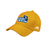 Adidas Gold Structured Adjustable Hat-Goldey-Beacom Official Logo