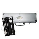 Grill Master 3pc BBQ Set-Goldey-Beacom Engraved