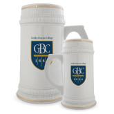 Full Color Decorative Ceramic Mug 22oz-GBC Shield with School Name