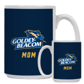 Mom Full Color White Mug 15oz-Mom