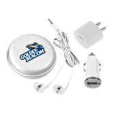 3 in 1 White Audio Travel Kit-Goldey-Beacom Stacked