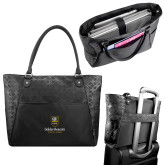 Sophia Checkpoint Friendly Black Compu Tote-Goldey Beacom College Vertical