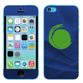 iPhone 5c Skin-Green Dot