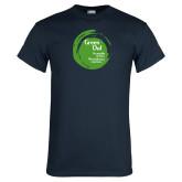Navy T Shirt-Tagline Inside