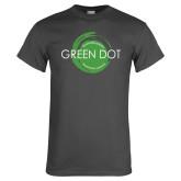 Charcoal T Shirt-Text Across Design