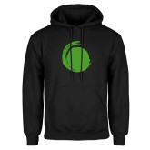 Black Fleece Hoodie-Green Dot