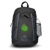 Impulse Black Backpack-Green Dot