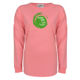 Pink Game Day Jersey Tee-Tagline Inside