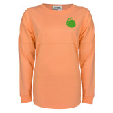 Coral Game Day Jersey Tee-Green Dot