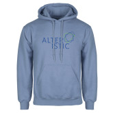 Light Blue Fleece Hoodie-Alteristic