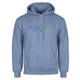 Light Blue Fleece Hoodie-Alteristic w Tagline