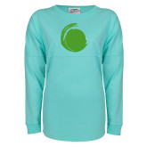 Mint Game Day Jersey Tee-Green Dot