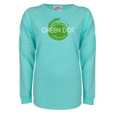 Mint Game Day Jersey Tee-Text Across Design