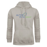 Khaki Gold Fleece Hoodie-Alteristic w Tagline