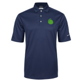 Nike Golf Tech Dri Fit Navy Polo-Green Dot