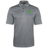 Nike Golf Dri Fit Charcoal Heather Polo-Green Dot