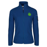 Columbia Ladies Full Zip Royal Fleece Jacket-Green Dot