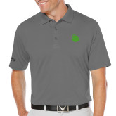 Callaway Opti Dri Steel Grey Chev Polo-Green Dot