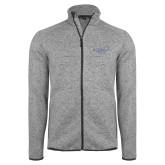 Grey Heather Fleece Jacket-Alteristic