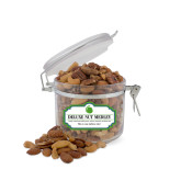 Deluxe Nut Medley Small Round Canister-Green Dot