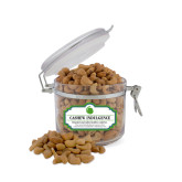 Cashew Indulgence Small Round Canister-Green Dot