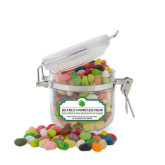 Jelly Belly Small Round Canister-Green Dot