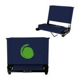 Stadium Chair Navy-Green Dot